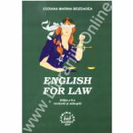 English for law Ed. a II-a