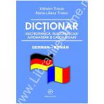 Dictionar de electrotehnica, telecomunicatii, automatizari si calculatoare - german-roman