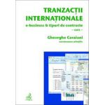 Tranzactii internationale. E-business & tipuri de contracte - curs