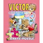 Victor calatoreste. Carte - puzzle