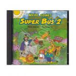 Here Comes Super Bus 2 - Beginner A1, Audio CDs (2) (Contine 2 cd-uri)