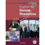 English for Human Resources: Students Book and MultiROM Pack