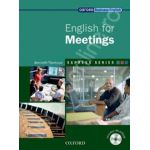 English for Meetings: Students Book and MultiROM Pack
