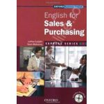 English for Sales&Purchasing: Students Book and MultiROM Pack