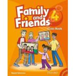 Family and Friends 4 Class Book and MultiROM Pack