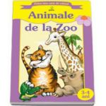 Animale de la zoo (Prima mea carte de colorat)