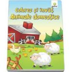 Colorez si invat - Animalele domestice