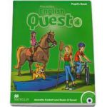 English Quest Level 4 - Pupils Book Pack (Animated Stories and Songs CD-ROM)