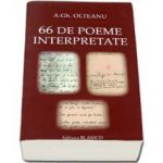 A. Gh. Olteanu, 66 De poeme interpretate
