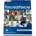 Face2Face Pre-Intermediate Students Book with CD-ROM / Audio CD. Manual pentru clasa a XI-a (L3)
