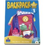 Backpack Gold level 1 students book with CD-Rom (Mario Herrera)