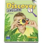 Wakeman Kate, Discover English level 1 Activity Book with CD-Rom
