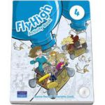 Curs de limba engleza Fly High level 4 - Activity Book with CD-Rom (Charlotte Covill)