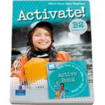Activate! B2 level Students Book (With Active Book DVD-ROM) - Mary Stephens