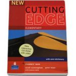 Sarah Cunningham - New Cutting Edge Elementary Students Book with mini-dictionary and CD-Rom pack