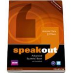 Antonia Clare, Speakout Advanced Students Book with ActiveBook (C1 level)