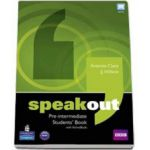 Speakout Pre-Intermediate Students Book with ActiveBook (Antonia Clare)