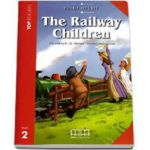 Edith Nesbit - The Railway Children. Story adapted by H. Q. Mitchell. Readers pack with CD level 2