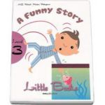 A funny story. Little Books level 3 reader with CD