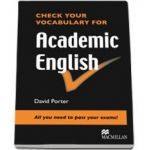 Check your vocabulary for Academic English (Level: Pre-intermediate to Intermediate)