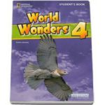 Curs de limba engleza World Wonders level 4 Students Book new editions, manualul elevului pentru clasa a VIII-a (National Geographic Learning)