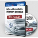 Format CD, Codul Fiscal 2016. Cele mai importante modificari legislative