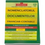 Nomenclatorul documentelor financiar-contabile, in vigoare de la 01. 01. 2016. Text comparat (O. M. F. P. 2634-2015 si O. M. E. F. 3512-2008)