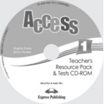 Virginia Evans, Curs limba engleza Access 1 CD. Teachers Resource Pack CD-ROM cu Teste