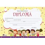Diploma - Format A4, model imagine copii