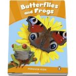 Butterflies and Frogs CLIL - Penguin Kids, level 3 de Wilson Rachel