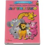 English for kids - At the zoo (Contine 16 cartonase cu imagini color) de Silvia Ursache