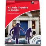 A Little Trouble in Dublin Level 1 Beginner/Elementary with CD-ROM/Audio CD - Richard MacAndrew