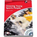 Amazing Young Sports People Level 1 Beginner - Elementary Book with CD-ROM(Audio CD Pack) de Mandy Loader