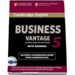Cambridge English Business. 5 Vantage Self-study Pack (Student's Book with Answers and Audio CD