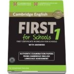 Cambridge English First 1 for Schools for Revised Exam from 2015 Student's Book Pack (Student's Book with Answers and Audio Cd)