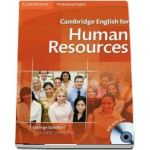 Cambridge English for Human Resources Student's Book with Audio CD - George Sandford