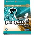Cambridge English Prepare! Level 2 Workbook with Audio - Garan Holcombe