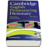 Cambridge English Pronouncing Dictionary with CD-ROM (Daniel Jones)