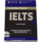 Cambridge IELTS 7 Self-study Pack (Student's Book with Answers and Audio CD) - Examination Papers from University of Cambridge ESOL Examinations