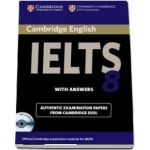 Cambridge IELTS 8 Self-study Pack (Student's Book with Answers and Audio CD) - Official Examination Papers from University of Cambridge ESOL Examinations