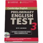 Cambridge Preliminary English Test 3 Self-study Pack - Examination Papers from the University of Cambridge ESOL Examinations