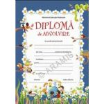 Diploma - Format A4, model absolvire, sarpe