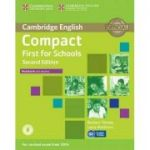 Compact First for Schools Workbook with Answers with Audio (Laura Matthews and Barbara Thomas)
