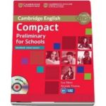 Compact Preliminary for Schools Workbook without Answers with Audio CD - Amanda Thomas, Sue Elliott