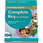 Complete Key for Schools Student's Book with Answers with CD-ROM (David McKeegan)