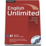 English Unlimited Starter. Teachers Book with DVD