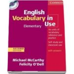 English Vocabulary in Use Elementary with Answers and CD