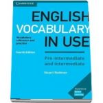 English vocabulary in use pre-intermediate and intermediate. Book with Answers