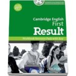 Cambridge english, first result. Workbook resource pack with key