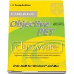Objective: Objective PET Classware DVD-ROM with answers